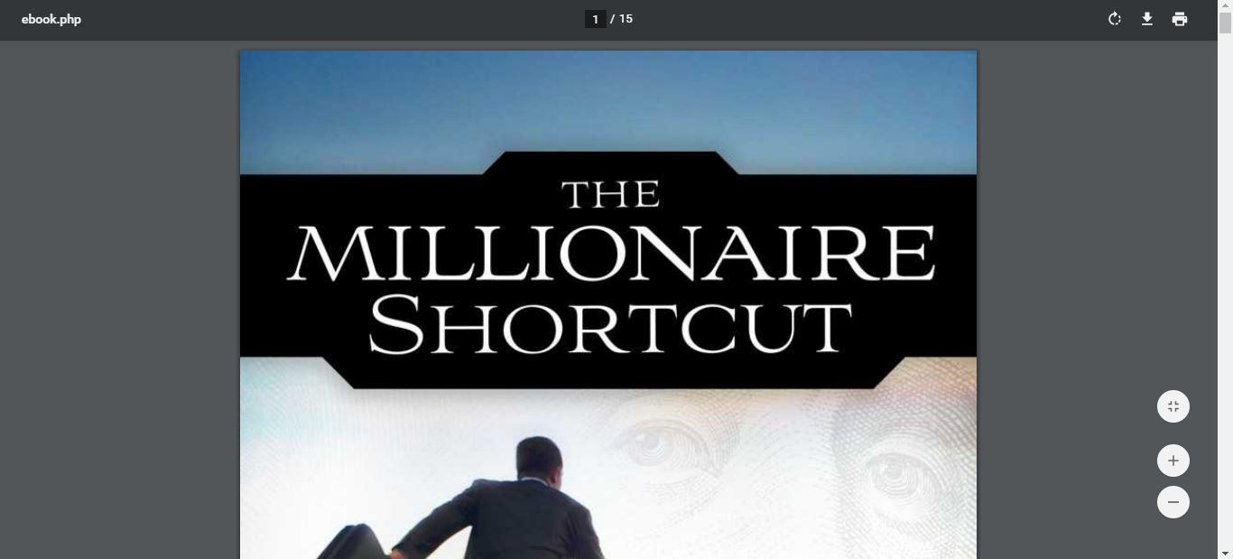 inside the millionaire shortcut