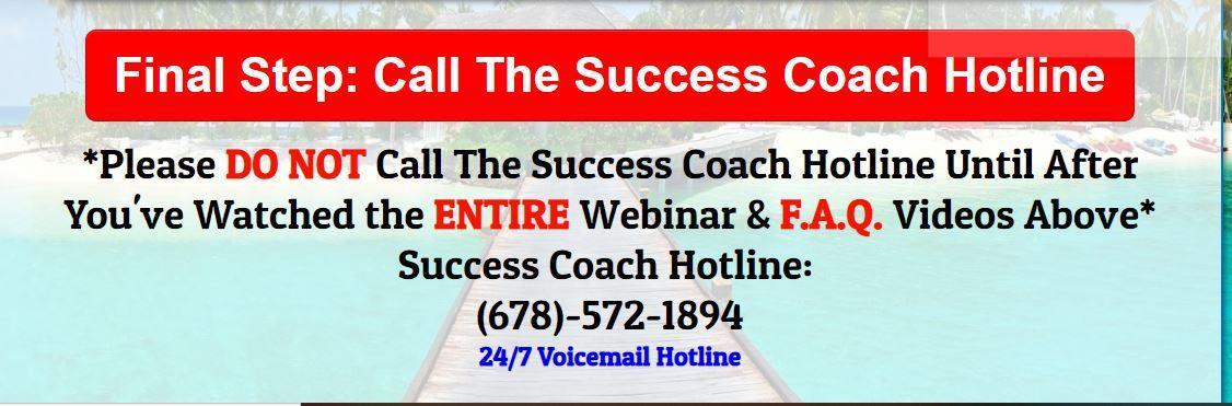 success coach hotline digital veteran blueprint