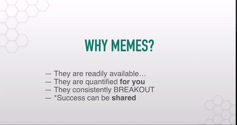 why meme secrets